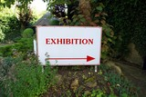 sign. exhibition poster