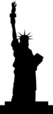 Fototapety statue of liberty vector file