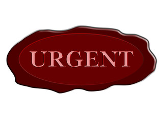 ellipse stamp urgent