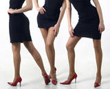 Feminine legs poster