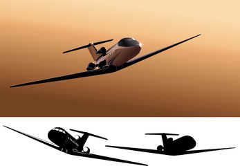 Vector light commercial jet