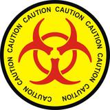 biohazard caution poster