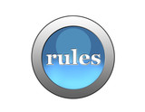 blue button rules poster