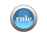 blue button rule poster