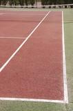 terrain de tennis poster