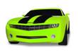 Neon Green  Sports Car