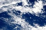 Fototapete Blau - Cumulus - Tag