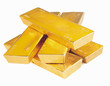 Five gold bars
