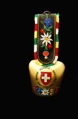 Souvenir bell from Switzerland.
