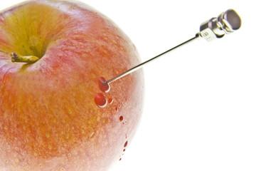 bleeding apple