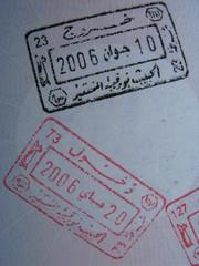 passeport pour la Tunisie