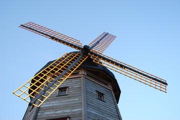 classic Holland windmill