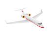vector - little airpllane Gulfstream  flying