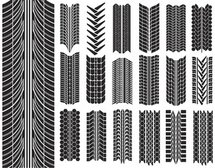 vector illustration of tires
