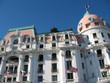 Nice façade hôtel Negresco sur la Promenade des Anglais
