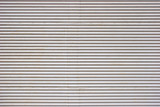 Corrugated sheets with rivets poster