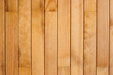 Wooden planks background poster