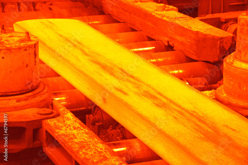 hot rolling mill - 6794597