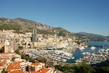 Scenic view of Monte Carlo poster