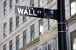 Wallstreet Ecke Broadway NY