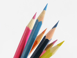 colourful pencils