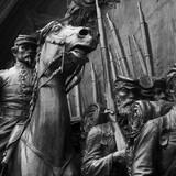 civil war statue poster