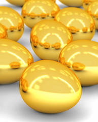 golden eggs array