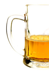 beer mug in white background