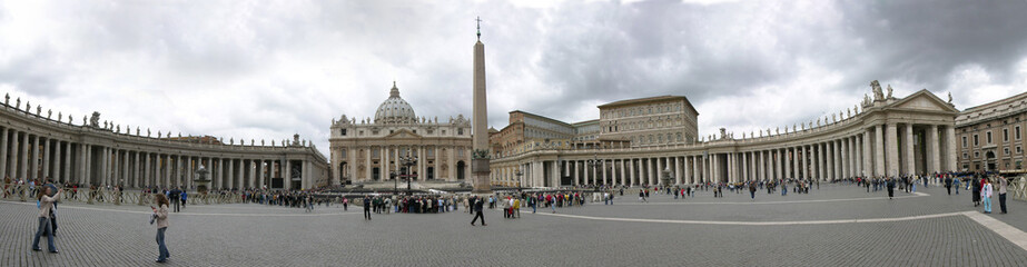 ST PETER'S SQUARE, VATICAN panorama