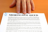 Mortgage Deed and Hand poster