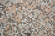 Brown, Gray and White Mosaic Tiled Wall