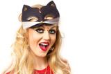 kitty girl poster