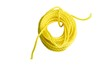 yellow rope on a white background
