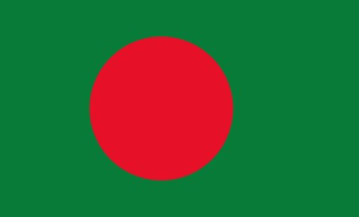 flag of Bangladesh with official proportion