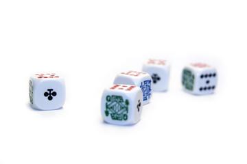 dados de poker