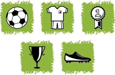 Fußball-Grafiken als Vektordatei