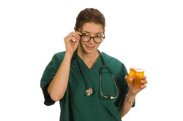 female nurse or doctor