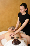 Senior Health and Fitness Hot Mineral Stone Massage