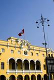 municipal government office lima peru poster