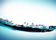 Leinwandbild Motiv water flow3