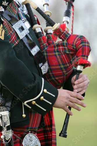 Scottish Bagpiper