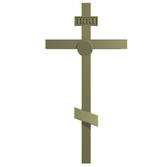 Only Golden Christian Cross.