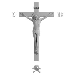 Only Catholic Cross with the Crucifixion.
