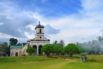 Filipino village church