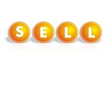 Cool Sell Button poster