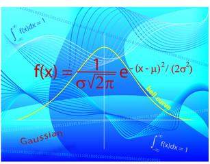 Gaussian Bell Curve