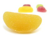 Gelatin candies gum fruit poster