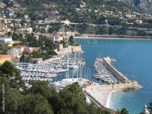 Panorama villefranche sur mer le port de la darse from pasc06 royalty free stock photo - Port de la darse villefranche sur mer ...