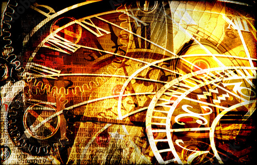 canvas print picture Mysterious time