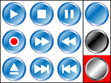 Media Player - Blue-Metall Edition poster